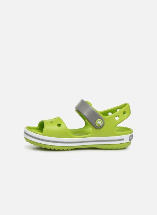 Sandali e scarpe aperte Crocs Crocband Sandal Kids Verde immagine frontale