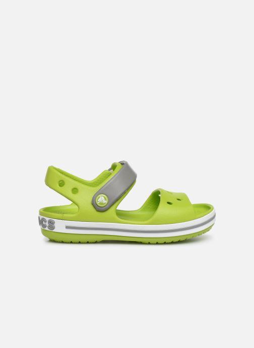 Sandales et nu-pieds Crocs Crocband Sandal Kids Vert vue derrière
