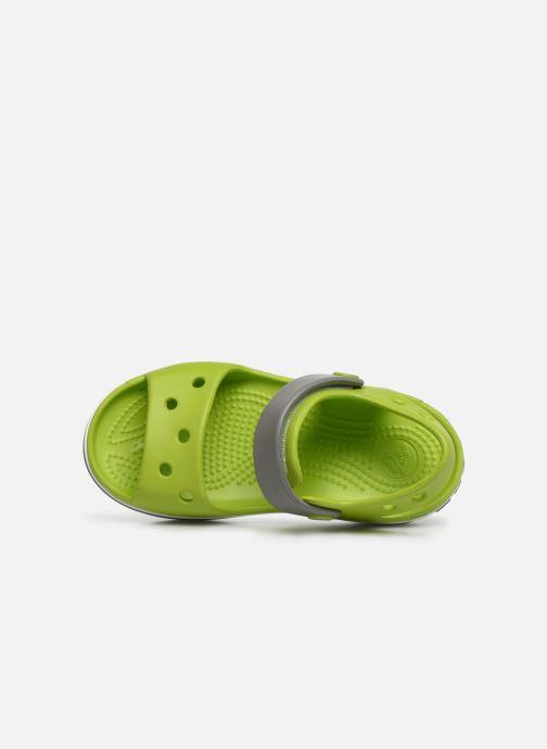 Sandalias Crocs Crocband Sandal Kids Verde vista lateral izquierda