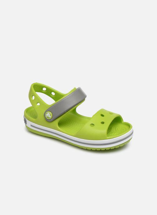 Sandales et nu-pieds Crocs Crocband Sandal Kids Vert vue détail/paire
