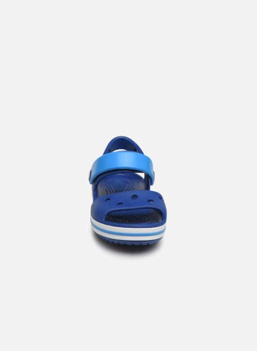 Sandals Crocs Crocband Sandal Kids Blue model view