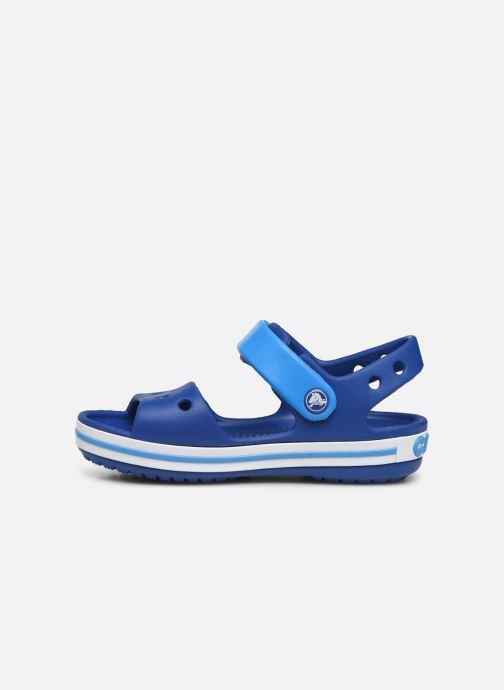 Sandals Crocs Crocband Sandal Kids Blue front view