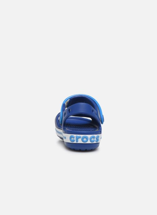 Sandals Crocs Crocband Sandal Kids Blue view from the right