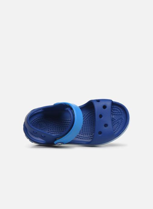 Sandals Crocs Crocband Sandal Kids Blue view from the left