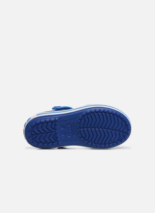 Sandals Crocs Crocband Sandal Kids Blue view from above