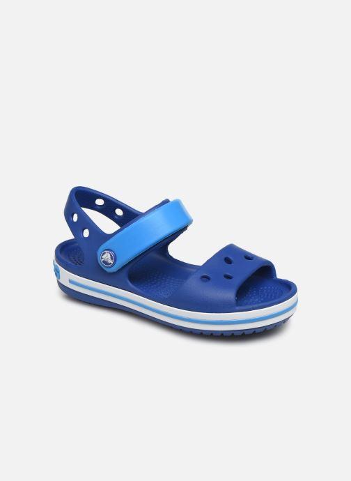 Sandals Crocs Crocband Sandal Kids Blue detailed view/ Pair view