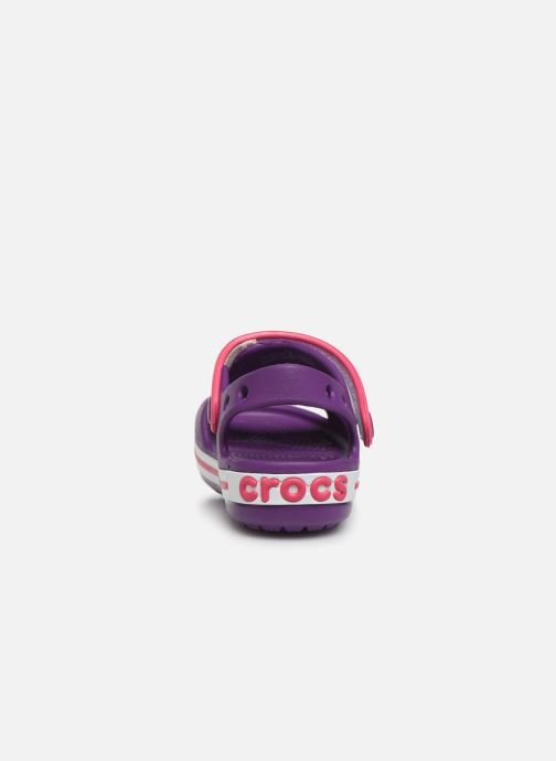 Sandals Crocs Crocband Sandal Kids Purple view from the right