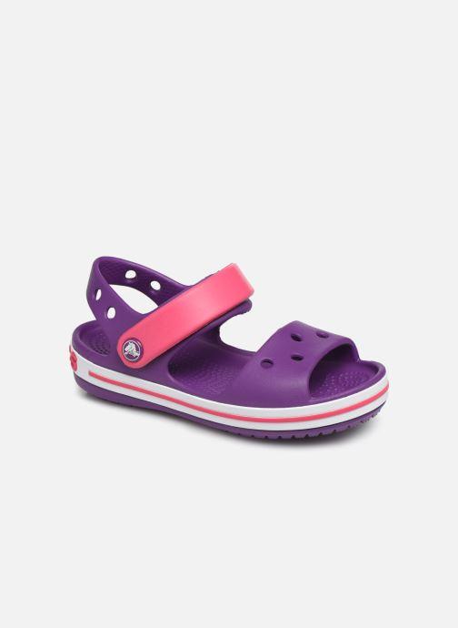 Sandales et nu-pieds Crocs Crocband Sandal Kids Violet vue détail/paire