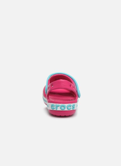 Sandals Crocs Crocband Sandal Kids Pink view from the right