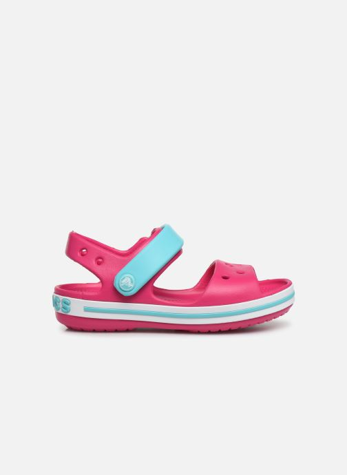 Sandalias Crocs Crocband Sandal Kids Rosa vistra trasera
