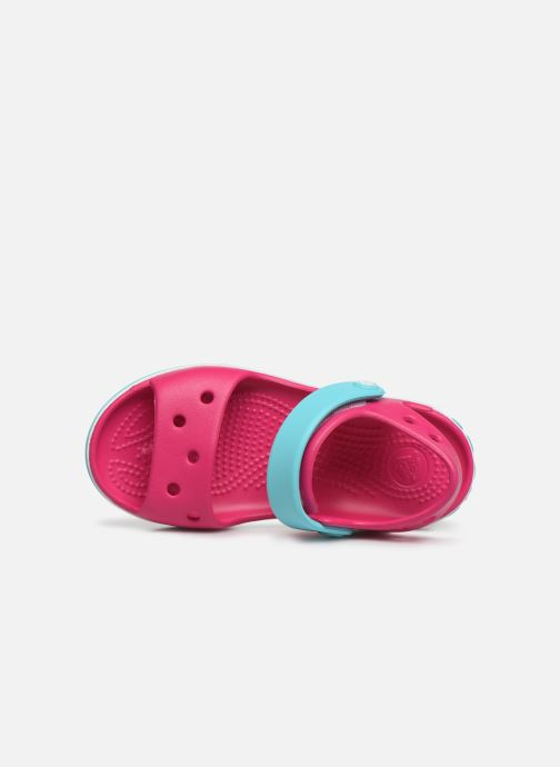 Sandalen Crocs Crocband Sandal Kids Roze links