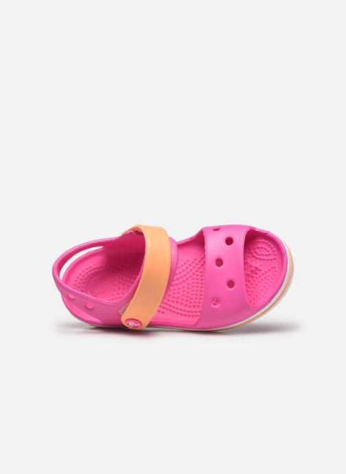 Sandalias Crocs Crocband Sandal Kids Rosa vista lateral izquierda