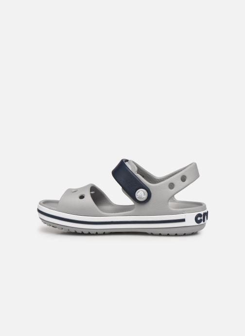 Sandali e scarpe aperte Crocs Crocband Sandal Kids Grigio immagine frontale