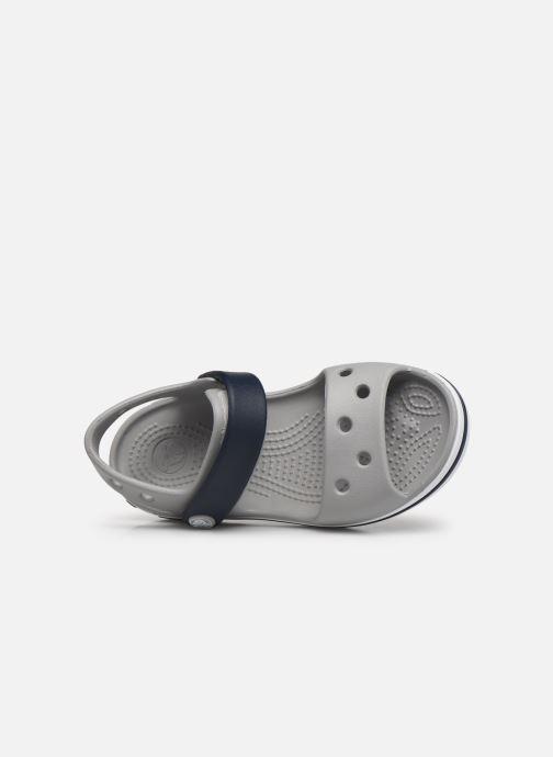 Sandali e scarpe aperte Crocs Crocband Sandal Kids Grigio immagine sinistra