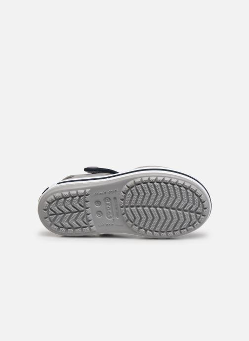 Sandali e scarpe aperte Crocs Crocband Sandal Kids Grigio immagine dall'alto