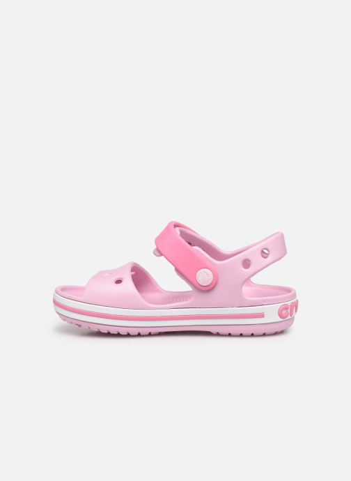 Sandalen Crocs Crocband Sandal Kids rosa ansicht von vorne
