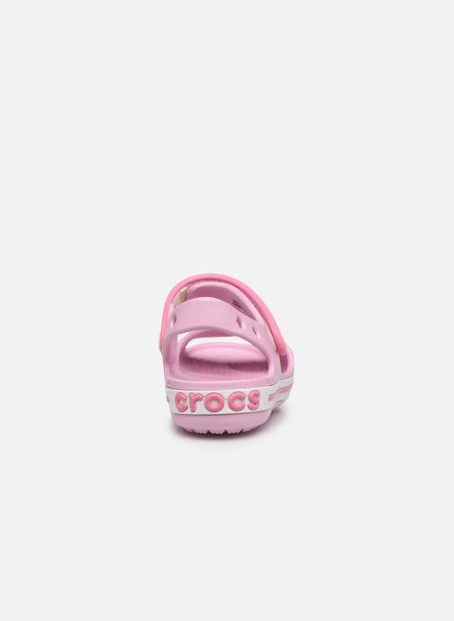 Sandalen Crocs Crocband Sandal Kids rosa ansicht von rechts