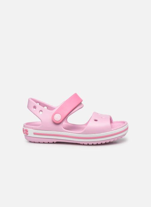 Sandalen Crocs Crocband Sandal Kids rosa ansicht von hinten