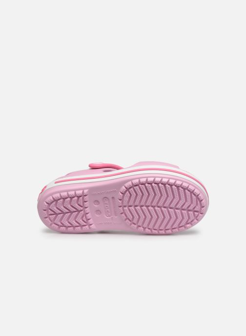 Sandalen Crocs Crocband Sandal Kids rosa ansicht von oben