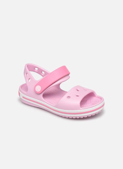 Sandalias Crocs Crocband Sandal Kids Rosa vista de detalle / par