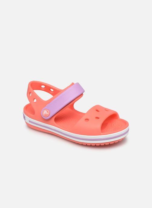 Sandalen Crocs Crocband Sandal Kids Rood detail