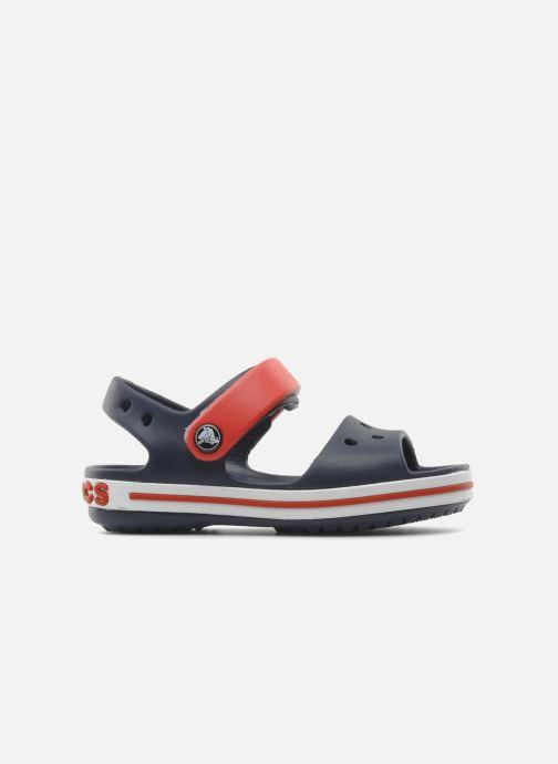 Sandals Crocs Crocband Sandal Kids Blue back view