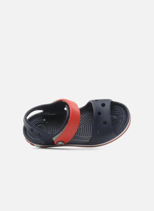 Sandales et nu-pieds Crocs Crocband Sandal Kids Bleu vue gauche