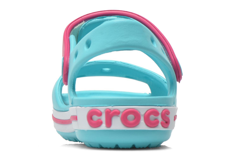 Sandali e scarpe aperte Crocs Crocband Sandal Kids Azzurro immagine destra