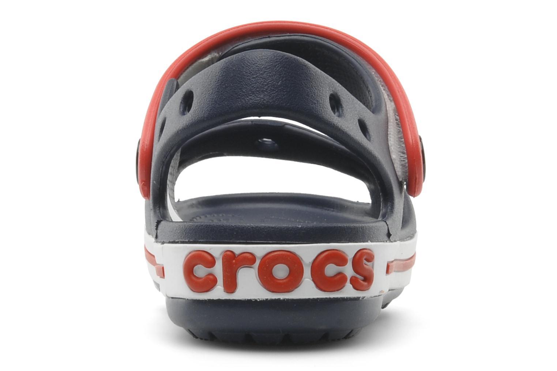 Sandales et nu-pieds Crocs Crocband Sandal Kids Bleu vue droite
