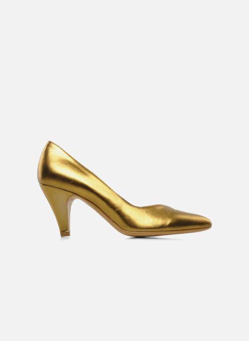 Zapatos de tacón Atelier Mercadal Escarpin Vintage Vava Oro y bronce vistra trasera