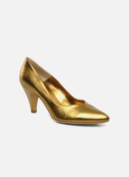 Zapatos de tacón Atelier Mercadal Escarpin Vintage Vava Oro y bronce vista de detalle / par
