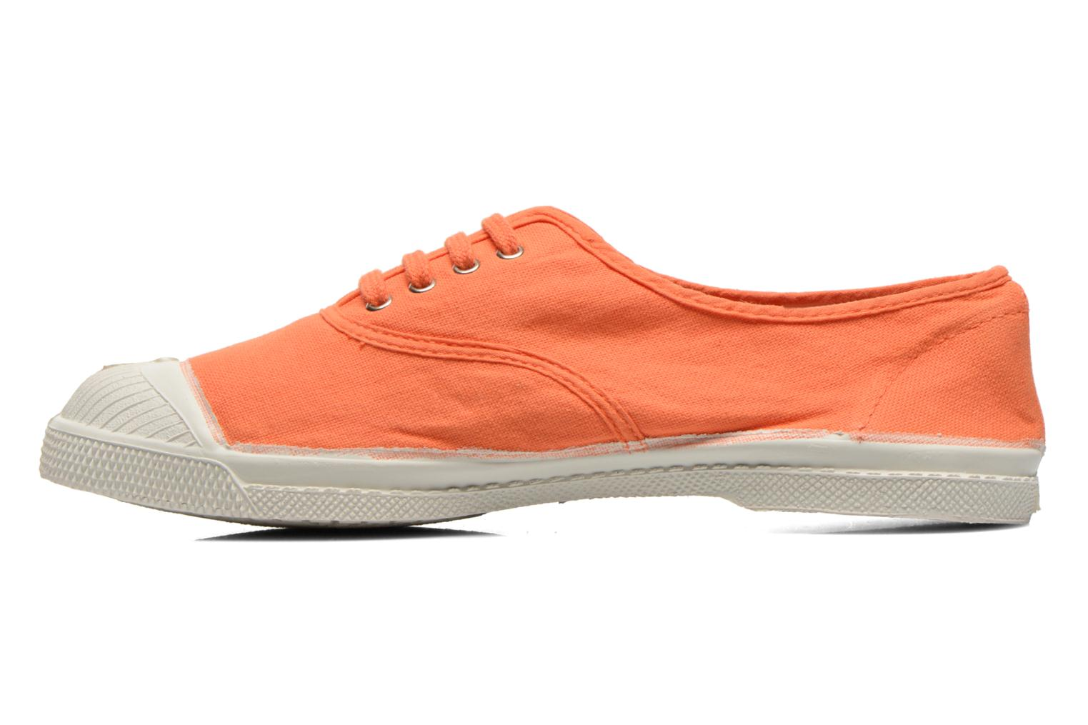 Trainers Bensimon Tennis Lacets Orange front view