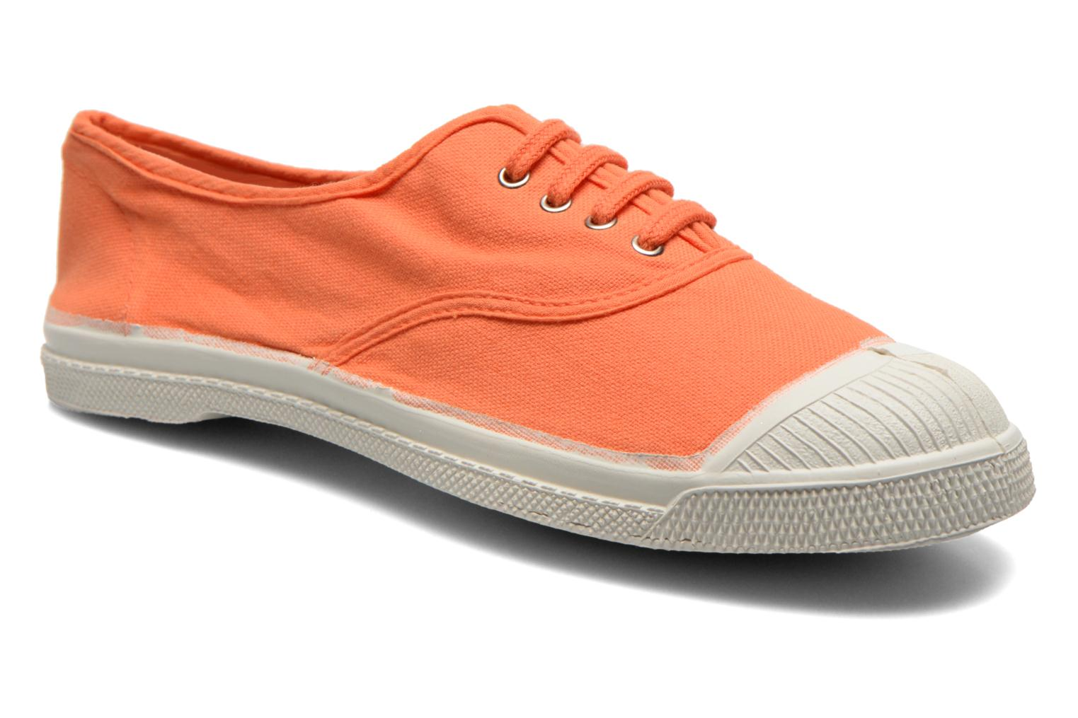 Bensimon Tennis Lacets (Orange) - Baskets en Más cómodo Remise de marque