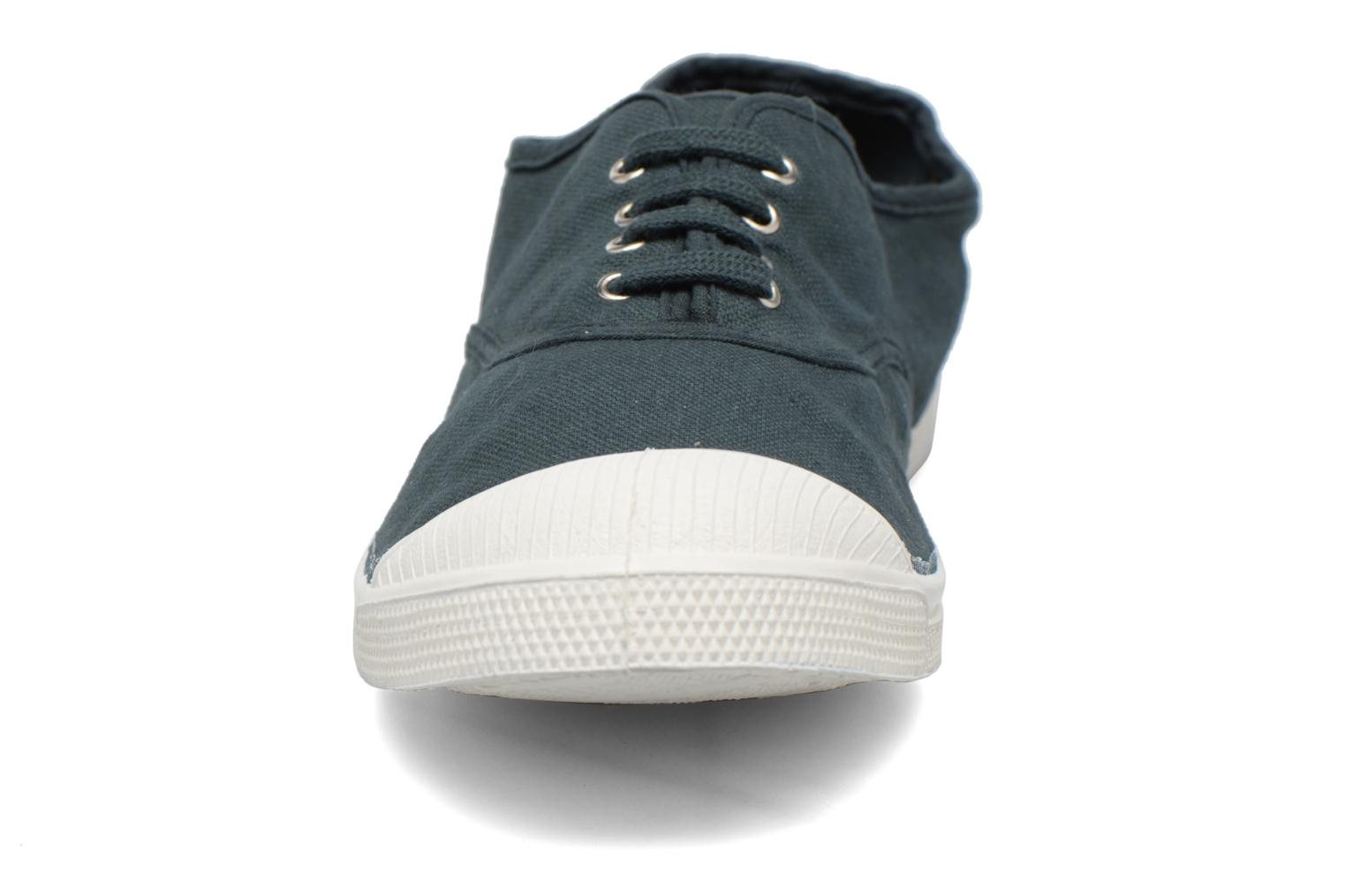 Trainers Bensimon Tennis Lacets Green model view