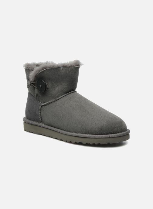 Stiefeletten & Boots UGG Mini bailey button grau detaillierte ansicht/modell