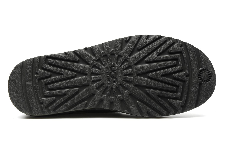Stiefeletten & Boots UGG Mini bailey button grau ansicht von oben