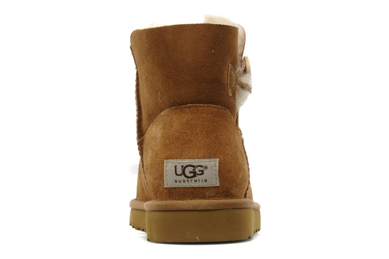 Stiefeletten & Boots UGG Mini bailey button braun ansicht von rechts