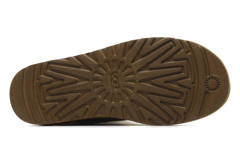 Stiefeletten & Boots UGG Mini bailey button braun ansicht von oben