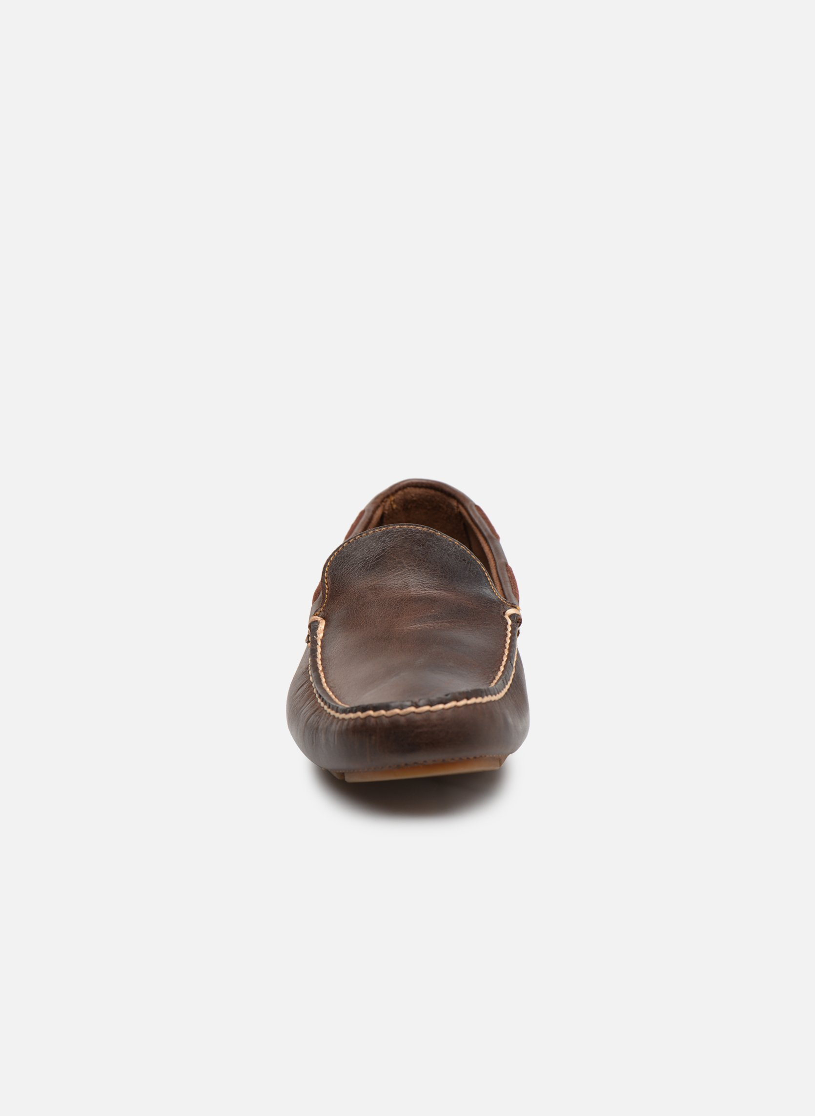 Loafers Timberland Heritage Driver Venetian Brown model view