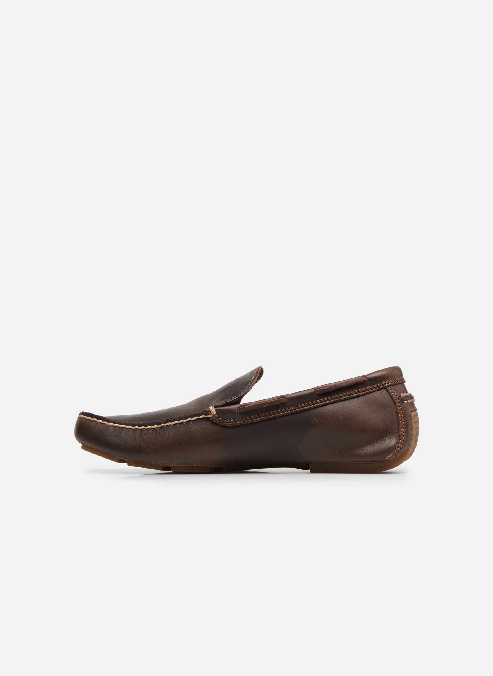 Loafers Timberland Heritage Driver Venetian Brown front view