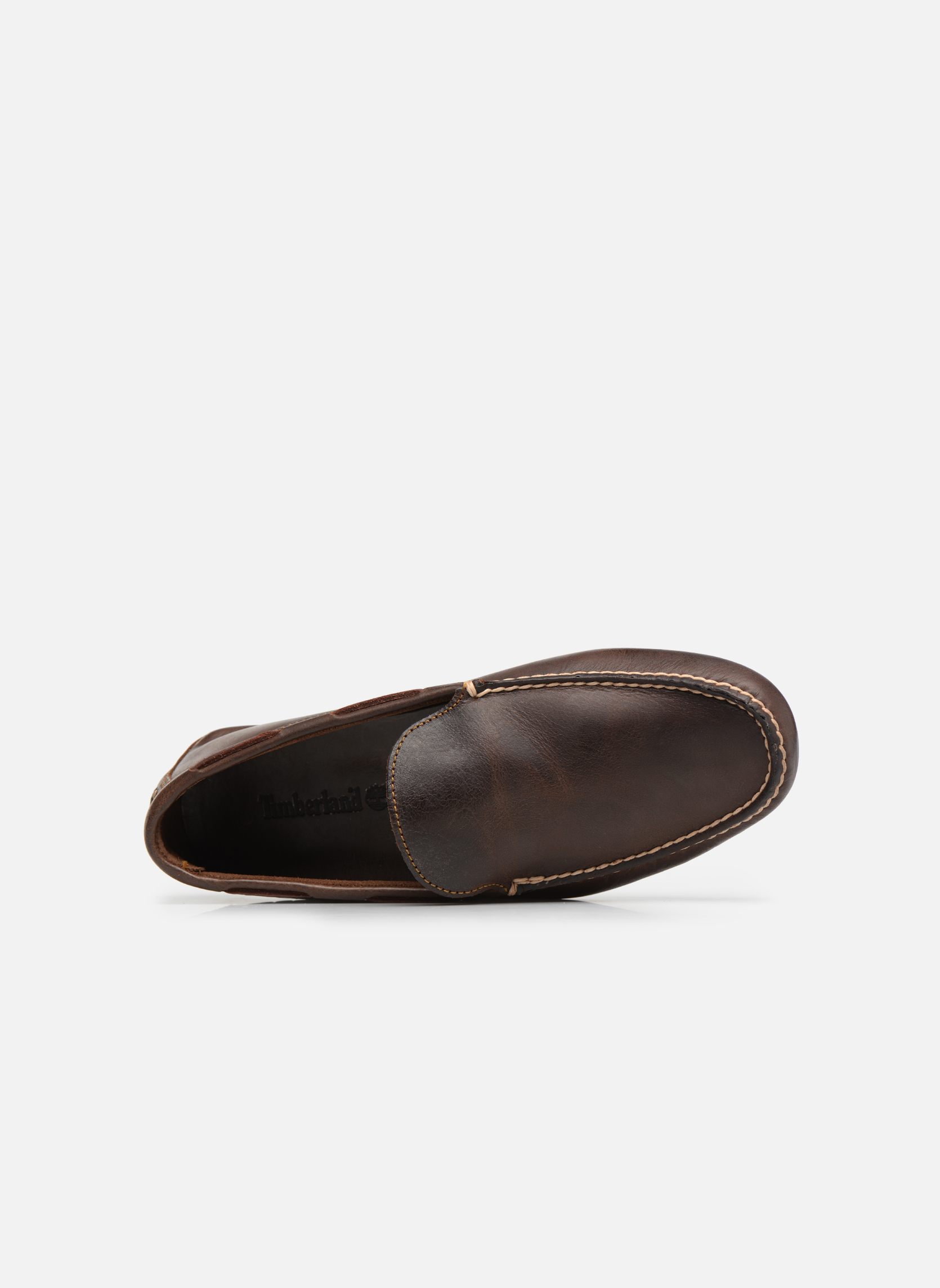 Loafers Timberland Heritage Driver Venetian Brown view from the left