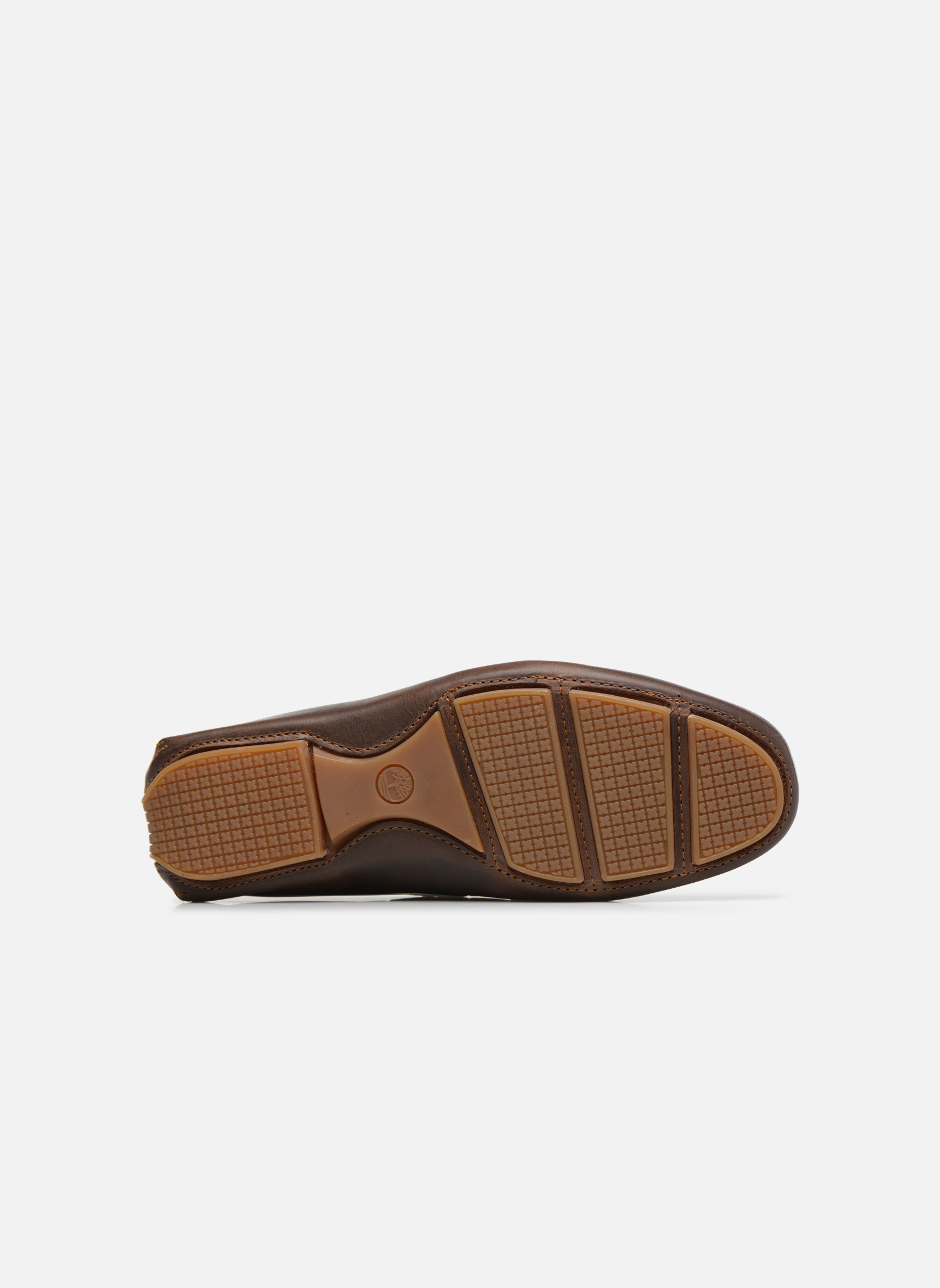 Loafers Timberland Heritage Driver Venetian Brown view from above