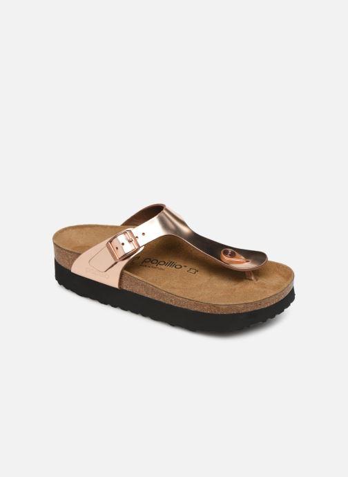 Flip flops & klipklapper Papillio Gizeh Cuir W Pink detaljeret billede af skoene