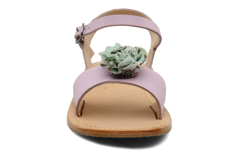 Sandales et nu-pieds Mellow Yellow Lorqua Violet vue portées chaussures