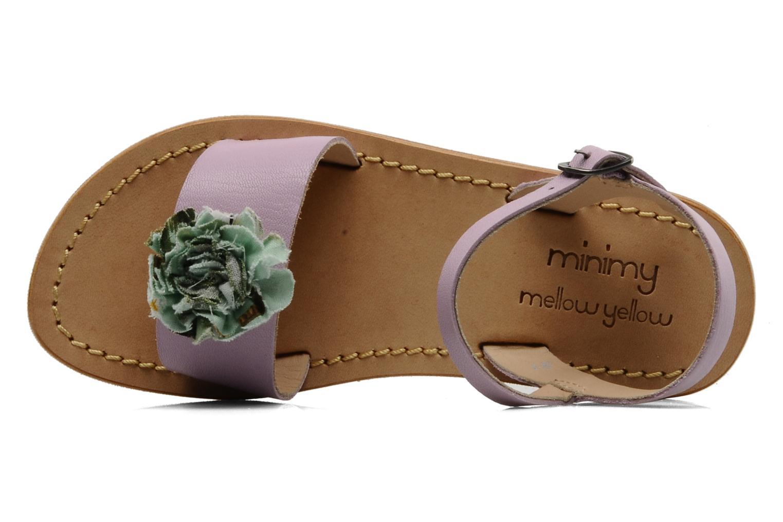 Sandales et nu-pieds Mellow Yellow Lorqua Violet vue gauche