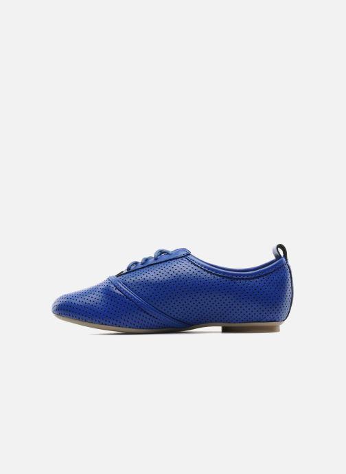 Chaussures à lacets Mellow Yellow Lilas Bleu vue face