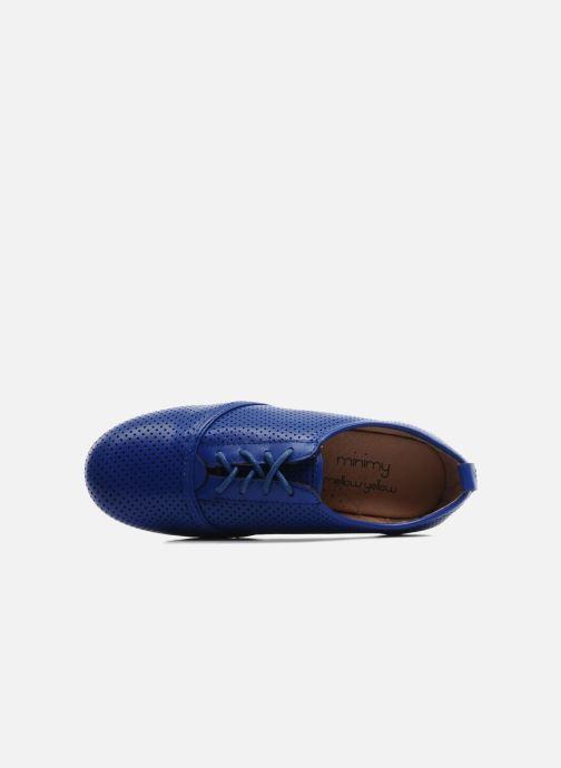 Chaussures à lacets Mellow Yellow Lilas Bleu vue gauche