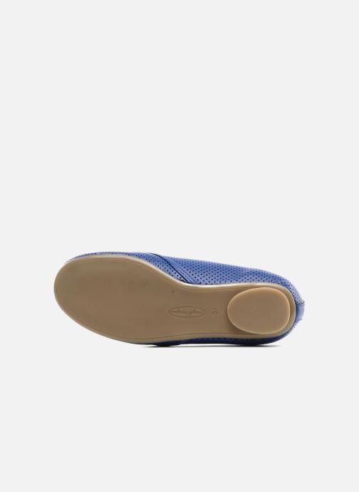 Chaussures à lacets Mellow Yellow Lilas Bleu vue haut