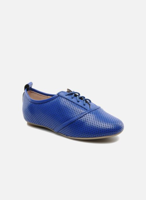 Chaussures à lacets Mellow Yellow Lilas Bleu vue détail/paire