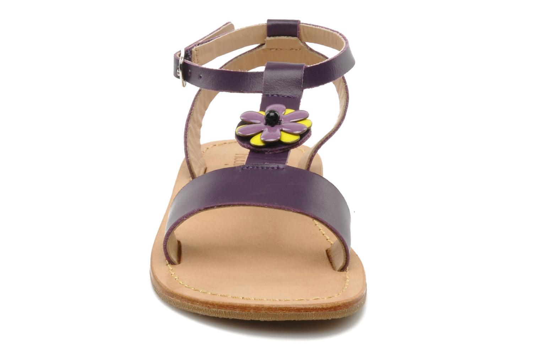 Sandales et nu-pieds Mellow Yellow Lumanji Violet vue portées chaussures